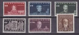 Lechtenstein 1940 100. Geburtstag Fürst Johann II 6v * Mh (=mint,hinged) (32243) - Unused Stamps