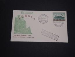 SAINT MARIN - FDC Europa 1961- A Voir - L 2711 - FDC