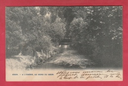 Eben - A L'ombre , Au Bord Du Geer  - 1906  ( Voir Verso ) - Bassenge