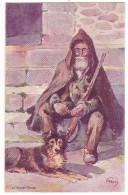 SAGONE. - Le Berger Corse. Superbe Carte Illustrée Par EVEN En 1906.  Editions JDC - France