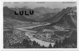 ALLEMAGNE : 2 Scans : Panorama Von Bad Tolz - Bad Toelz