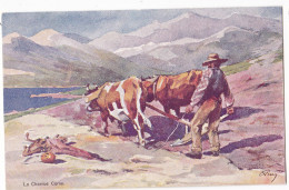 SAGONE. - La Charrue. Superbe Carte Illustrée Par EVEN En 1906.  Editions JDC - France