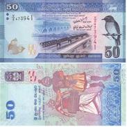 Sri Lanka 50 Rupees 2010 Pick 124.a SIN CIRCULAR - UNC - Sri Lanka