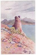 SAGONE. - La Tour Génoise. Superbe Carte Illustrée Par EVEN En 1906.  Editions JDC - France