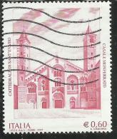ITALIA REPUBBLICA ITALY REPUBLIC 2007 PATRIMONIO ARTISTICO E CULTURALE CATTEDRALE SANT´EVASIO USATO USED OBLITERE´ - 6. 1946-.. Republic