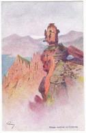 Nuage Montant Au Calanche. -  Superbe Carte Illustrée Par EVEN En 1906.  Editions JDC - France