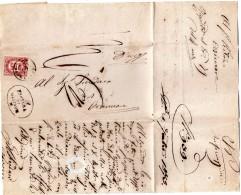 1875  LETTERA CON ANNULLO ORZINUOVI BRESCIA - 1861-78 Vittorio Emanuele II