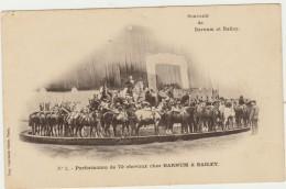 CIRQUE--SOUVENIR DE BARNUM ET BAYLET--TBE--VOIR SCANNER - Circo