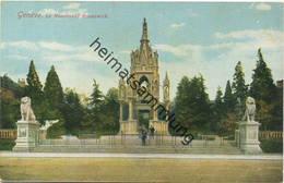 Genève - Le Monument Brunswick - GE Genève