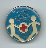Red Cross 1974.Petrova Gora.Yugoslavia.badge - Associations