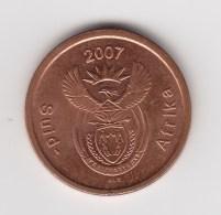 @Y@    Zuid Afrika    5 Cent 2007      (3070) - Afrique Du Sud