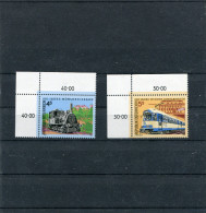 AUTRICHE 1988 Y&T 1745-1746** - Trenes