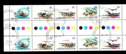 BIG - COCOS , Serie Completa Usata N. 68/72 Pair - Isole Cocos (Keeling)