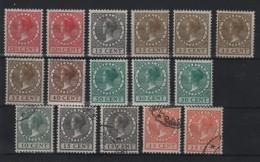 PAYS - BAS : 16 EX . * ET OBL . 1924/31 . B .