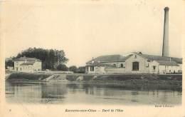 AUVERS SUR OISE        BORDS DE L OISE    USINE - Auvers Sur Oise