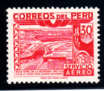 PEROU - N°PA 97a - IRRIGATION - SANS SURCHARGE - RARE - LUXE. - Peru