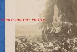 Photo Ancienne - SAINT LAURENT La ROCHE ( Jura ) - Inauguration ? Du Monument Aux Morts - Eveque De Saint Claude - Luoghi