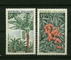 Rep. Madagascar**  N° 465/466 - Fruits - Madagascar (1960-...)