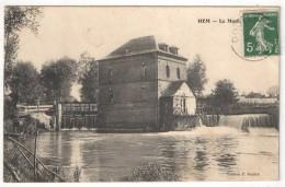 80 - HEM-HARDINVAL - Le Moulin - Edition Raulet - Other Municipalities