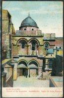 Jerusalem Church Of The Sepulchre Postcard - Palestine