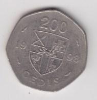 @Y@   Ghana   200 Cedis   1998     (3091) - Ghana