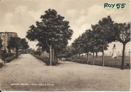 Campania-avellino-ariano Irpino Viali Della Villa Veduta Anni/40 - Italia