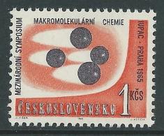 1965 CECOSLOVACCHIA CONGRESSO CHIMICA A PRAGA MNH ** - CZ5 - Unused Stamps
