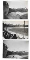 LE HAVRE (76) Ensemble De 3 Photographies Vues Du Vélodrome Course Cycliste 1931 - Le Havre