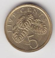 @Y@    Singapore  5 Cent 1987     (3094) - Singapour