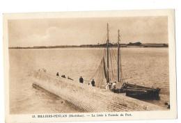 BILLIERS PENLAN (56) La Jetée à L'entrée Du Port Bateau Animation - France