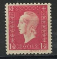 FRANCE -  M. DE DULAC  - N° Yvert  691** - 1944-45 Marianne De Dulac