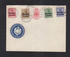 Dt. Reich Besetzung Belgien Umschlag 1915 Verwaltungschef B.d. Generalgouverneur - Bezetting 1914-18