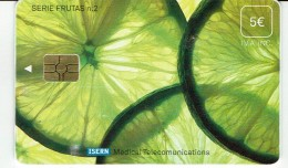 ESPAÑA ISERN SERIE FRUTAS Nº 2 LEMONS SPAIN HOSPITAL PHONECARD - Espagne