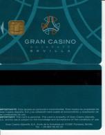 ESPAÑA TARJETA GRAN CASINO ALJARAFE SEVILLA ( CLOSED - NEW NAME NOW) - Espagne