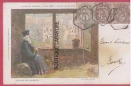 75 - PARIS--Exposition Universelle 1900--Exposition Miniere Souterraine--Cellule De L'Hermitte--d'apres Lithographie - Expositions