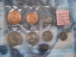 New Zealand 1965 UNC 7 Coin Set 1/2 Penny - Half-Crown Sealed Pack By Royal Mint - Nouvelle-Zélande