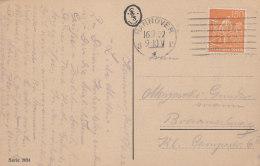 INFLA DR 189 EF Auf AK: Pfingstrose In Vase, Mit Masch-Stempel: Hannover 16.9.1922 - Infla