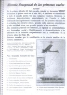 HISTORIA AEROPOSTAL DE LOS PRIMEROS VUELOS ALGERIO NONIS CUADERNO ANILLADO RARE PALABRA AERONAUTICA MARCAS POSTALES - Posta Aerea E Storia Aviazione