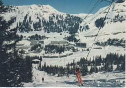 FLAINE : Vue Générale De La Station Depuis Le Téléski Du Stade De Slalom - Thônes