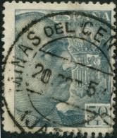 Pays : 166,7 (Espagne)          Yvert Et Tellier N° :   791 (o) - 1931-50 Usati