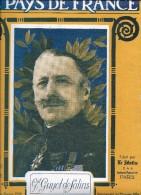 LE PAYS DE FRANCE - GÉNÉRAL GUYOT DE SALINS - 26 Juillet 1919 - Livres, BD, Revues