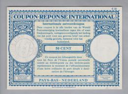 Niederlande Ganzsachen Coupon Réponse International 1965-10-02 Schiedam 50 Cent - Postal Stationery