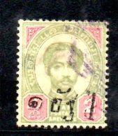T633 - SIAM 1890 , Yvert N. 16 Usato - Siam