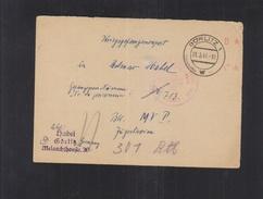 Germany POW PC 1946 To Yugoslavia Red Cross - 1945-1992 Sozialistische Föderative Republik Jugoslawien