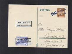 Dt. Reich Bestzung Polen Poland PK Hamemba 1939 - Bezetting 1938-45