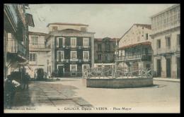 GALIZA - ORENSE - VERIN - Plaza Mayor ( Ed. Postal Ortiz Nº 2) Carte Postale - Orense