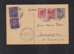 Dt. Reich Dienst-PK Löwenberg Schlesien 1923 - Dienstzegels