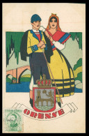GALIZA - ORENSE - VERIN - COSTUMES   ( Ed. Publicaciones Ciagra Nº 34) Carte Postale - Orense
