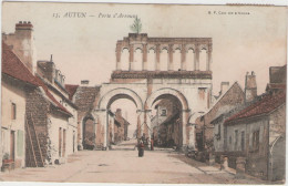 CPA:  AUTUN  (71):   Porte  D'ARROUX.     (A+ 4778v) - Autun