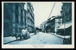 GALIZA - ORENSE - Calle Del Progresso ( Ed. L. Roisin Nº 43)  Carte Postale - Orense